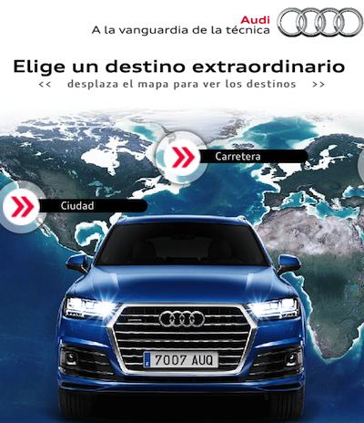 Videowall Interactivo Audi